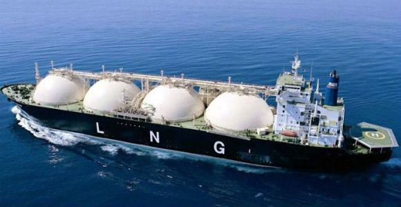 LNG ship feature