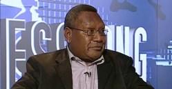 Loi Bakani, Governor of the Bank of Papua New Guinea. Source: EMTV