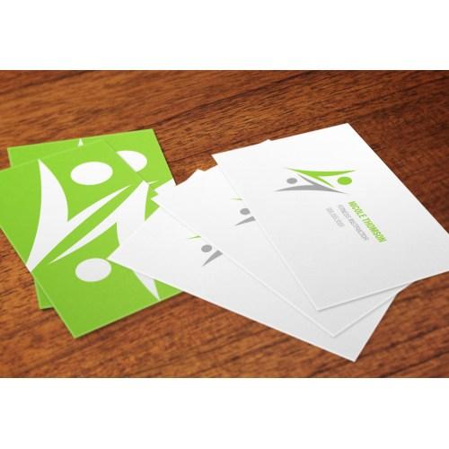 Medium Crop Of Matte Business Cards