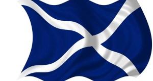 Crucea Sfântului Andrei, steagul Scoției