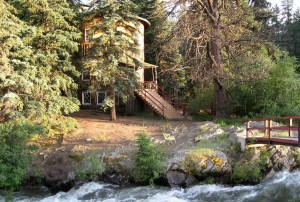 The hotel and 14 cabins are on 123 acres, surrounded by Pike National Forest. (Courtesy of Bob Regester)