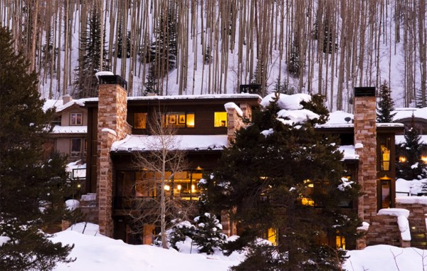 "One of Quintess' Vail listings, the ""Cougars Den,"" includes a patio spa, a third-level deck, and access to the slopes. (Quintess website)"