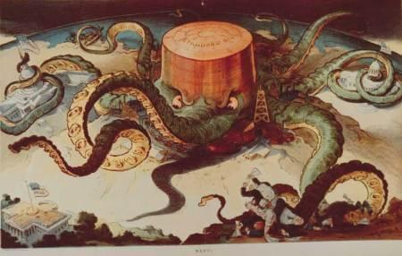 Карикатура на нефтяную монополию