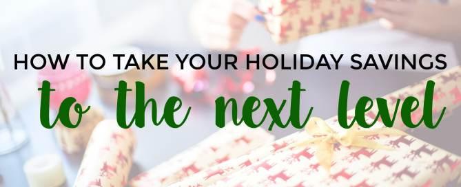 holiday savings