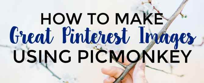 Want to learn how to make fabulous Pinterest images for free?