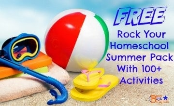 FREE Rock Your Homeschool Summer Pack With 100+ Activities