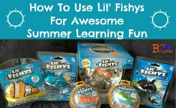 How To Use Lil' Fishys For Awesome Summer Learning Fun
