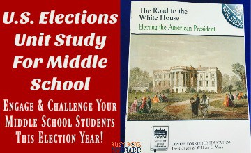 U.S. Elections Unit Study For Middle School