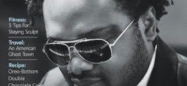 Cobhams Asuquo graces the cover of Guardian Life mag's latest issue