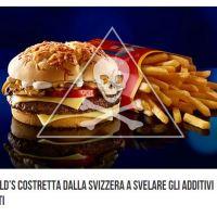 McDonald's costretta a svelare gli additivi?