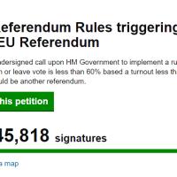 PRECISAZIONI: La petizione per un secondo referendum su Brexit