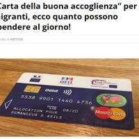 La carta di credito per gli immigrati
