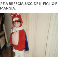 Orrore a Brescia, uccide il figlio e se lo mangia