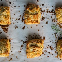 rosemary honey buttermilk biscuits