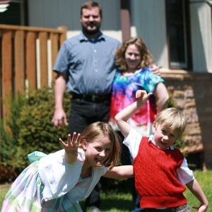 The Butterscotch Sundae Family, April 2014