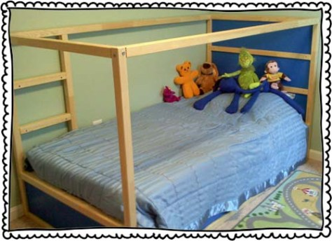 Kura bed from Ikea