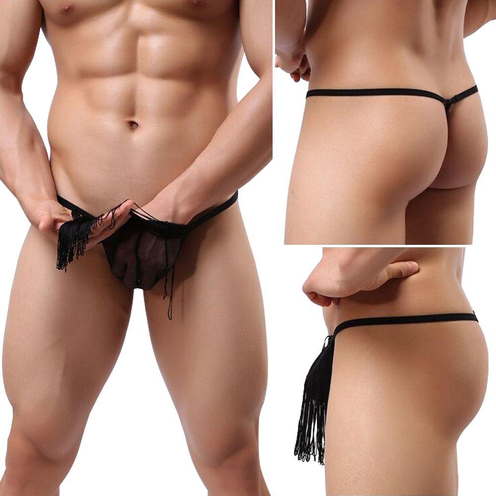 men wearing thongs