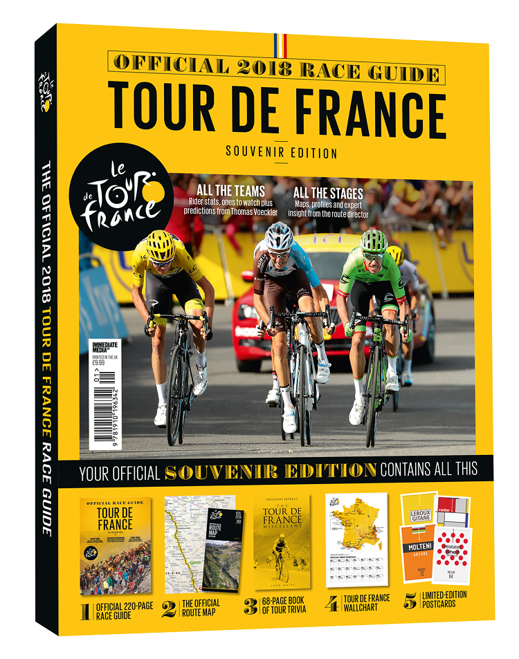 The Official Tour De France Guide 2018 Official Tour de France Guide Magazine 2018