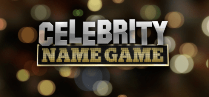 Celebrity Name Game Renewed for Second Season