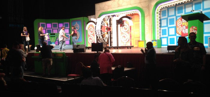 The Price is Right Live Brings The Dream To You