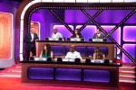 ALEC BALDWIN; TITUSS BURGESS, ROSIE O'DONNELL, MICHAEL IAN BLACK (top row); DEBRA MESSING, JB SMOOVE, SUTTON FOSTER (bottom row)