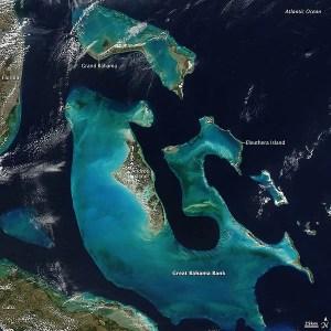 Satellite Photo - Bahamas