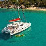 Catamaran yacht Elixer