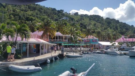 Tortola West End Sopers Hole BVI boat hire