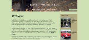 Reserch Company Website Design title=Lydell Industries
