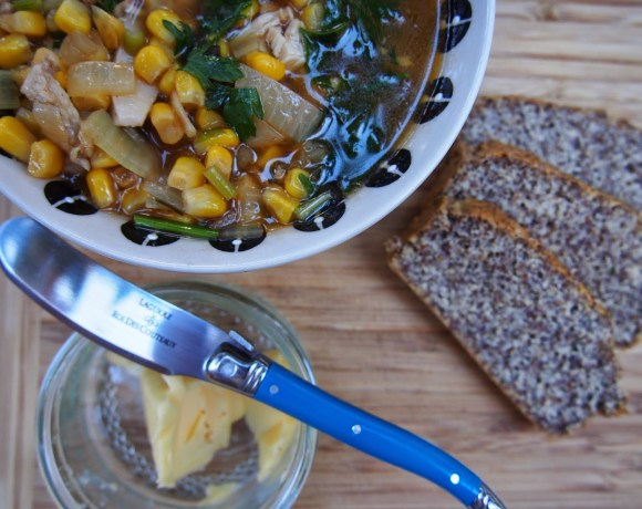 Hearty Chicken & Sweetcorn Broth