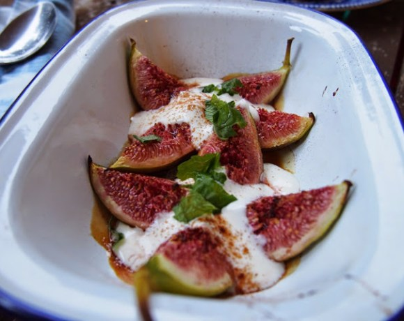 Honey Baked Figs