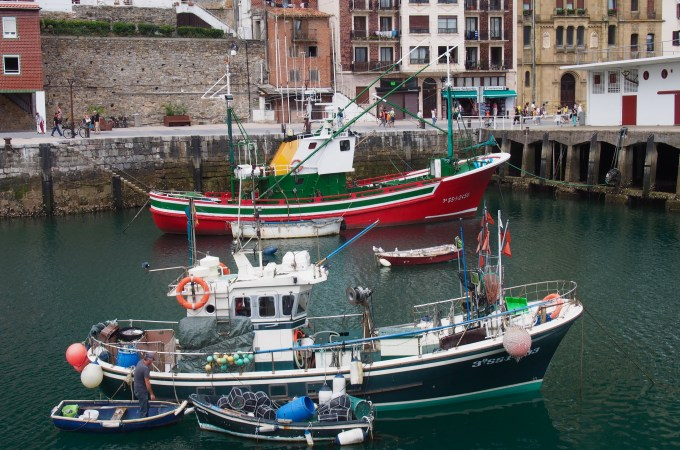 Fishing Vessels, San Sebastian, Basque Country, The Rosedog Blog, www.therosedogblog.me