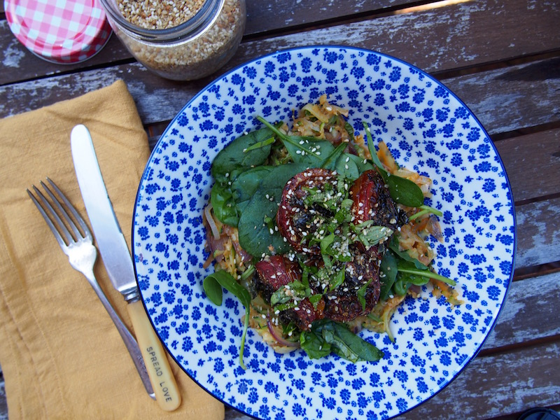 Supercharged Green Breakkie Bowl, By Rosie, recipe over on www.therosedogblog.me
