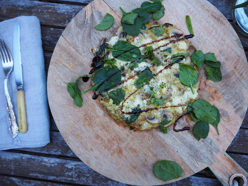Blue Cheese Omelette, Healthy Breakfast Recipes, Recipes By Rosie, www.by-rosie.com