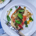 Pesto Chicken Parcels on Butterbean Mash, Simple Cooking, Meal Prep Ideas, High Protein, www.by-rosie.com