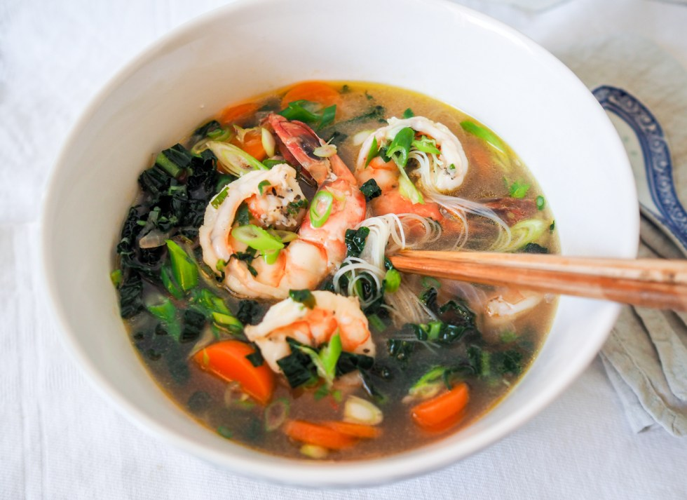 Prawn Noodle Broth, Recipes By Rosie, www.by-rosie.com