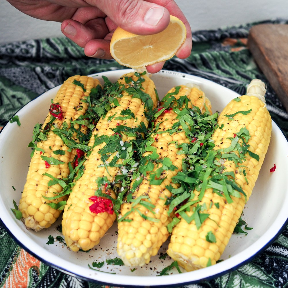 Organic Mexican Corn on the Cob, recipes by rosie, www.by-rosie.com