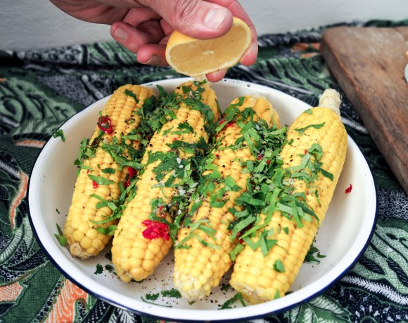 Mexican Corn Cobs