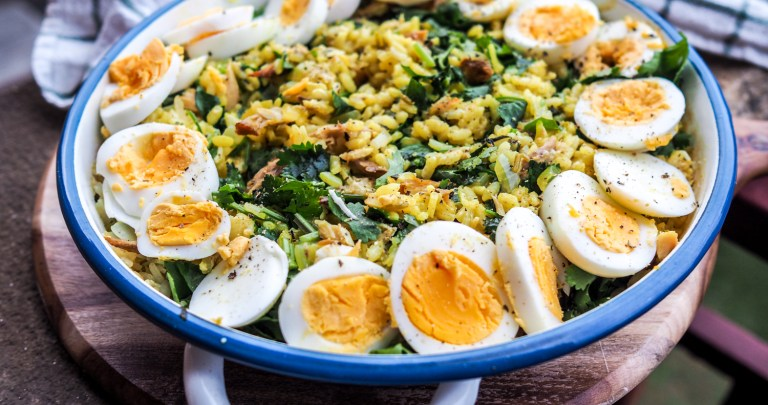 Oven Baked Kedgeree-Style Risotto