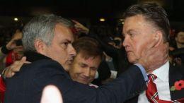 Jose Mourinho Louis Van Gaal