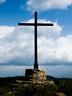 cross on the mountain