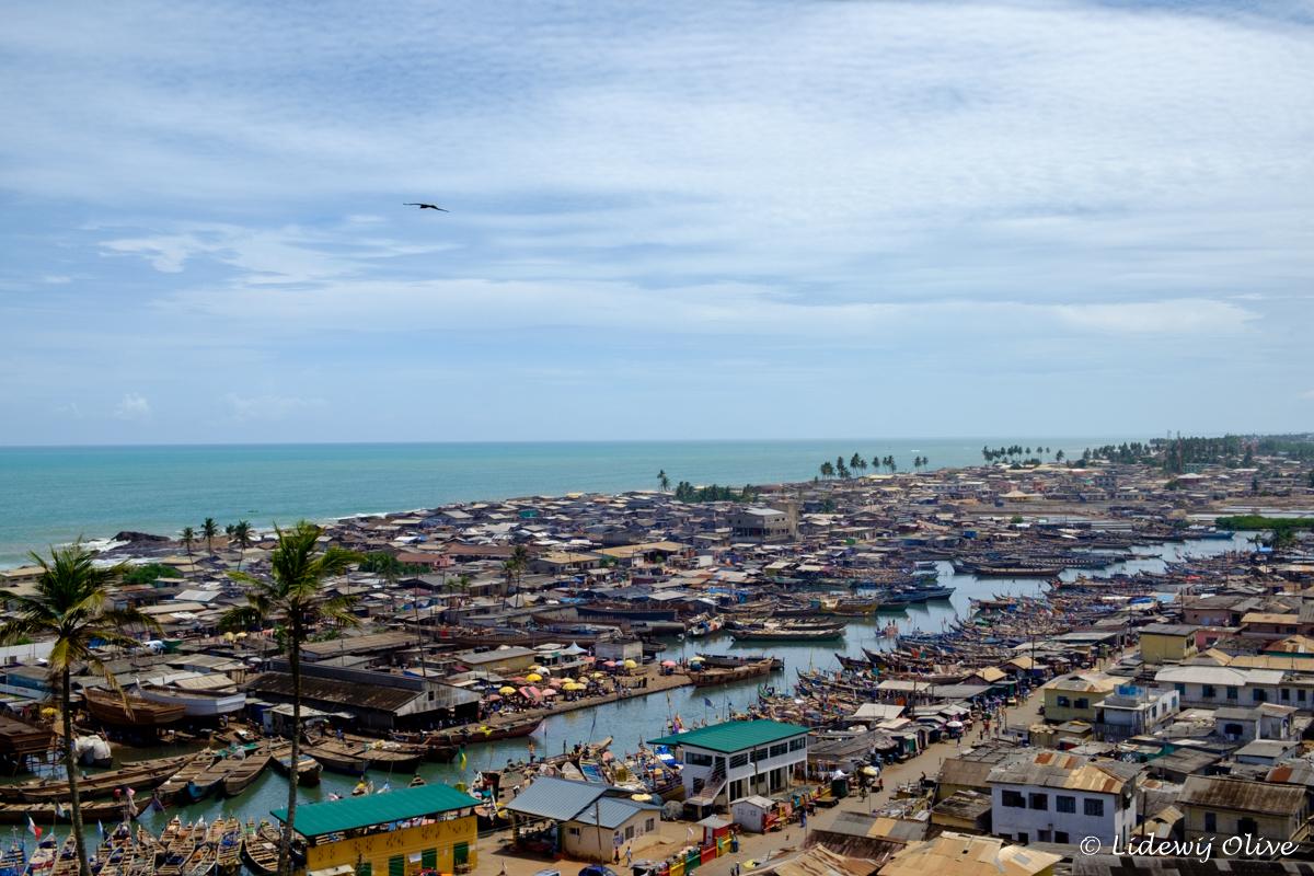 elmina city in Ghana