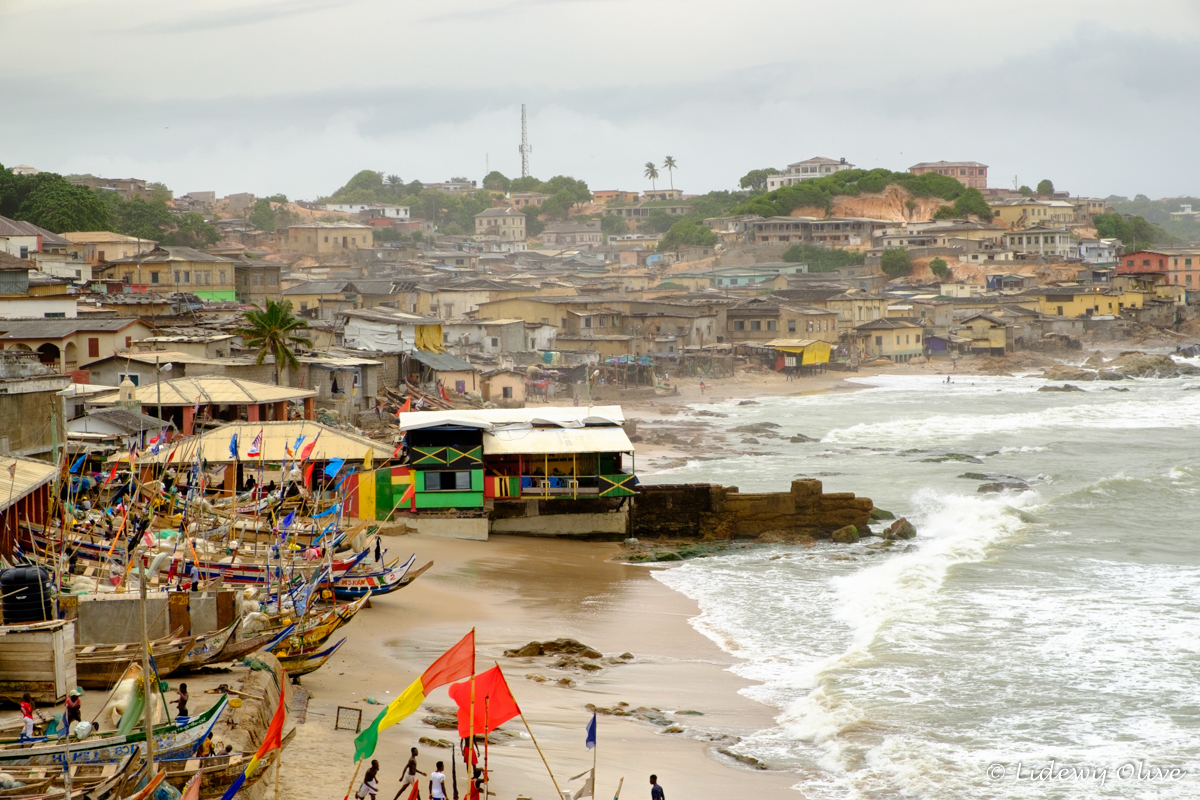 view over cape coast, Ghana