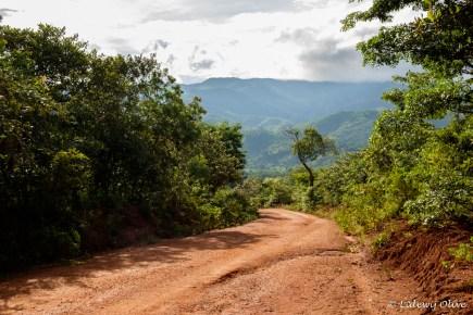 Road from Lukwe to Livingstonia