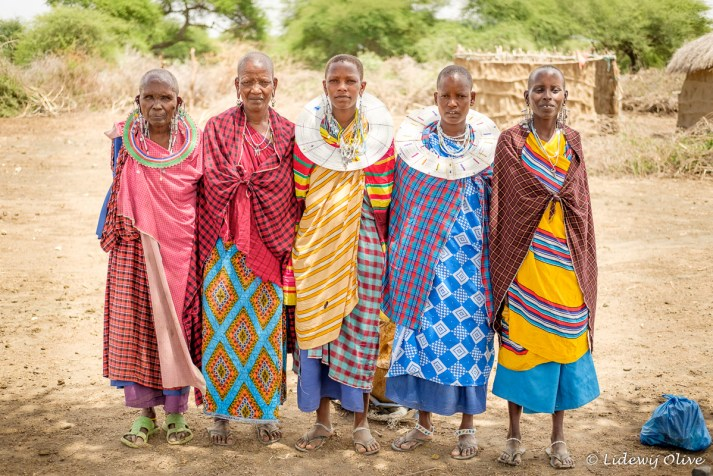 Beautiful Masaai women