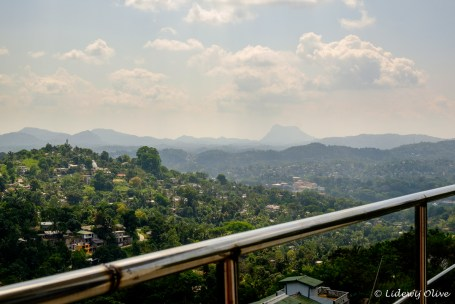 Room with a view in Kandy