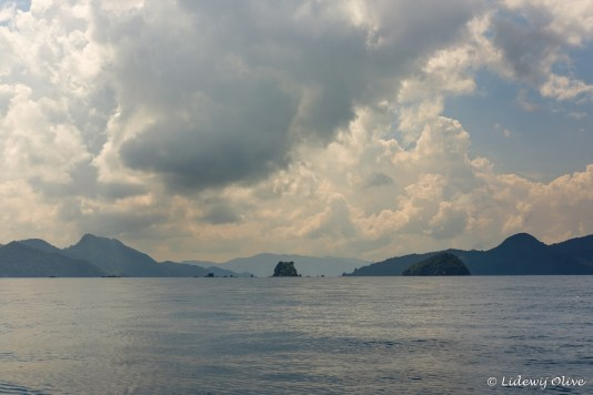 Getting near to El Nido