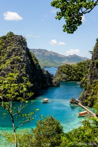The scenery of Coron