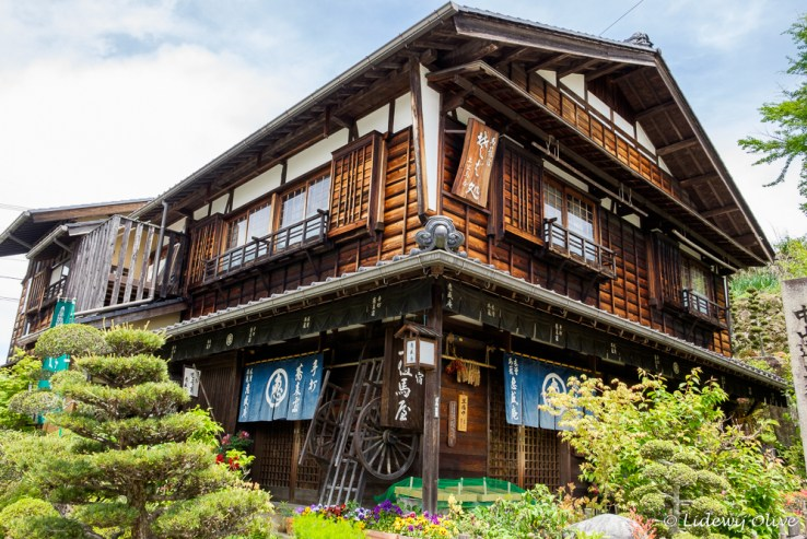 Old wooden house in Magome