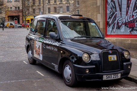 Typical UK cab